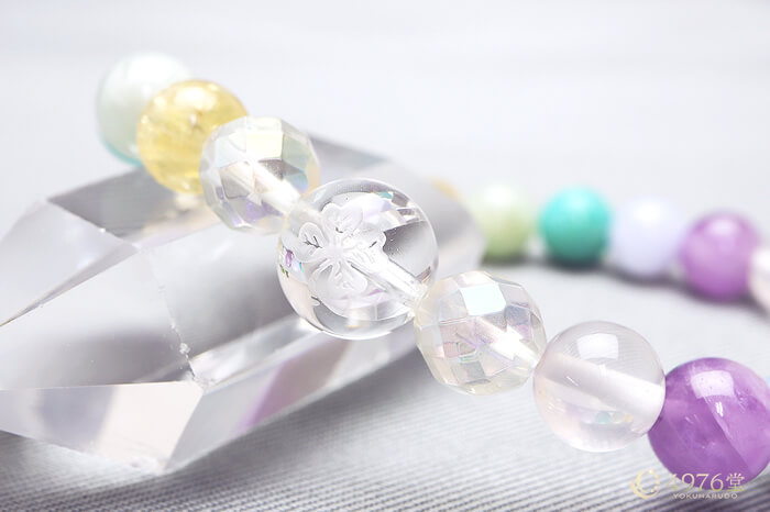 クローバー水晶 チャクラ パワーストーン