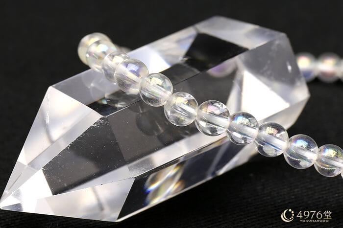 オーロラ水晶 ブレスレット 4mm