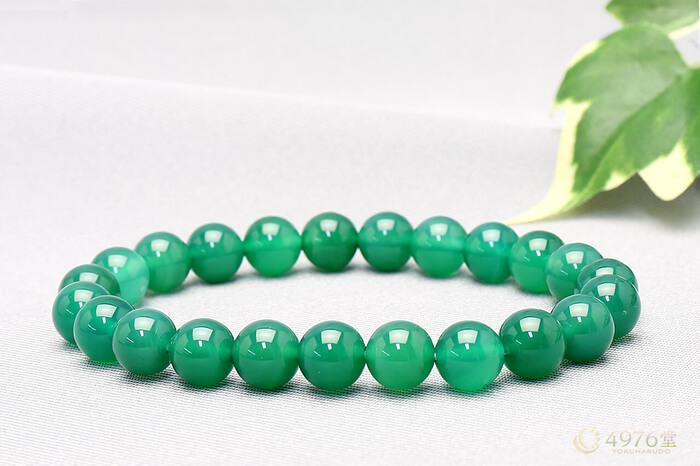 緑メノウ ブレスレット 8mm