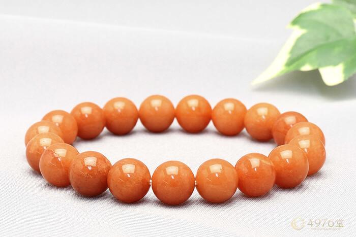 オレンジアベンチュリン ブレスレット 10mm