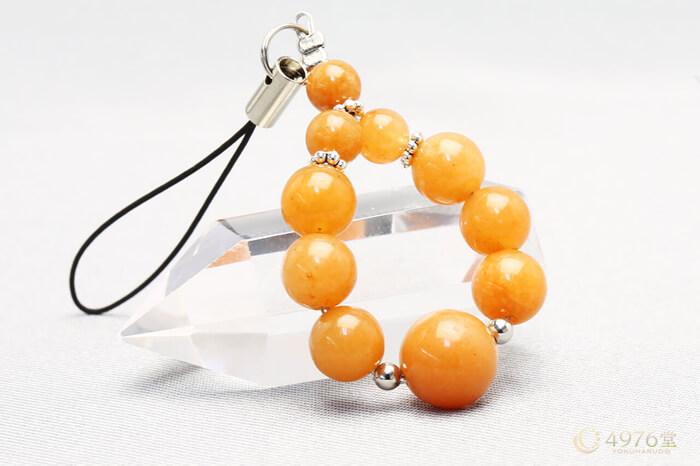 オレンジアベンチュリン ストラップ 10mmメイン